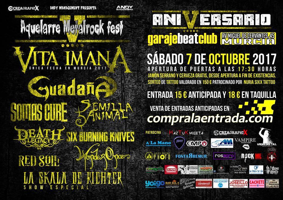 Aquelarre Metalrock Fest 2017