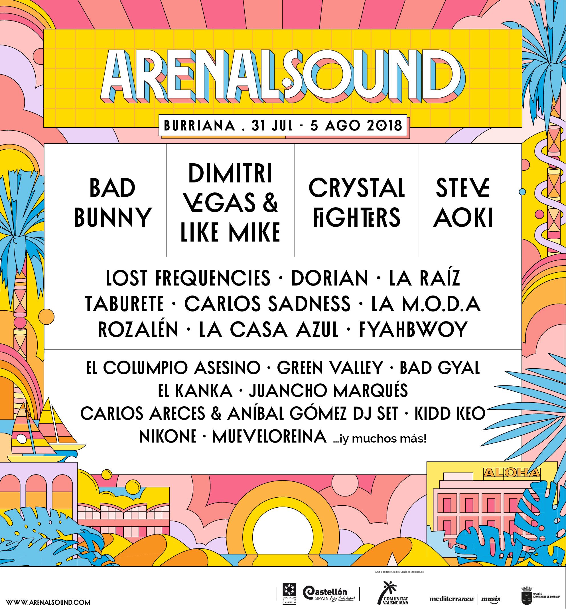 arenal sound 2018 cartel  entradas  horarios  abonos bad girls love games free online bad girls love games free online