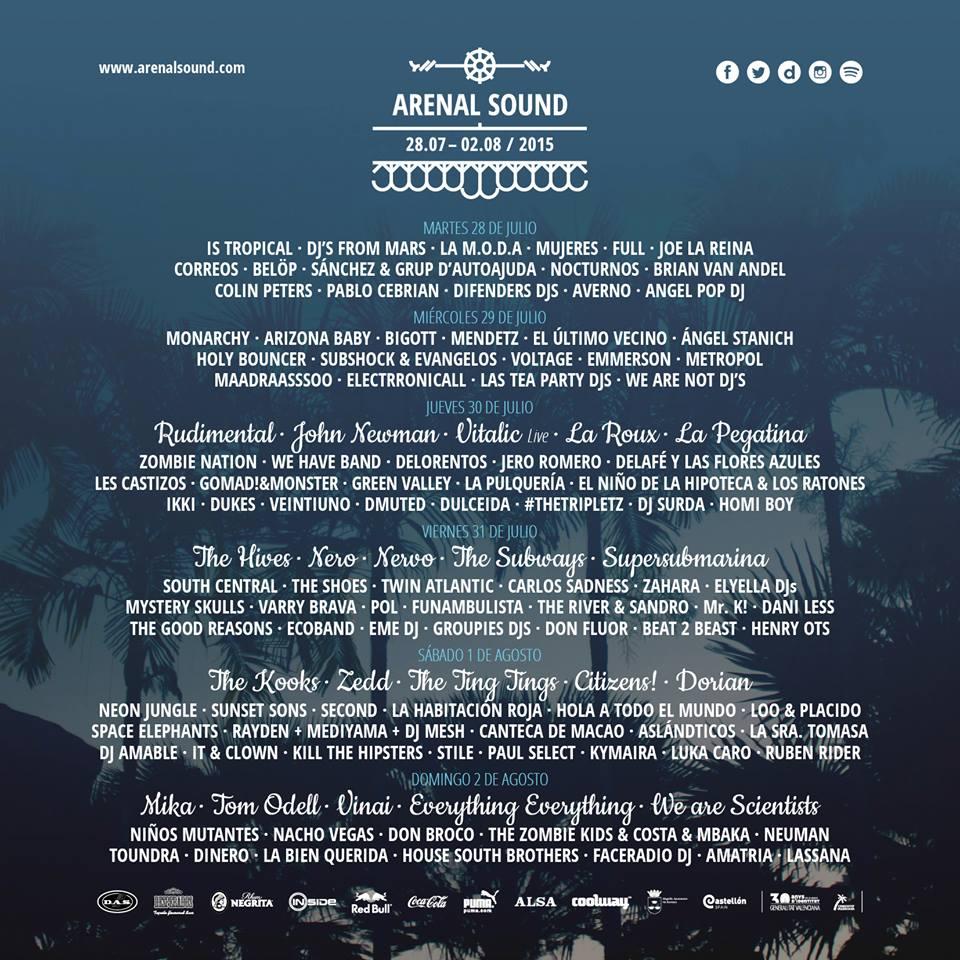 """Resultado de imagen de arenal sound cartel 2020"""""""