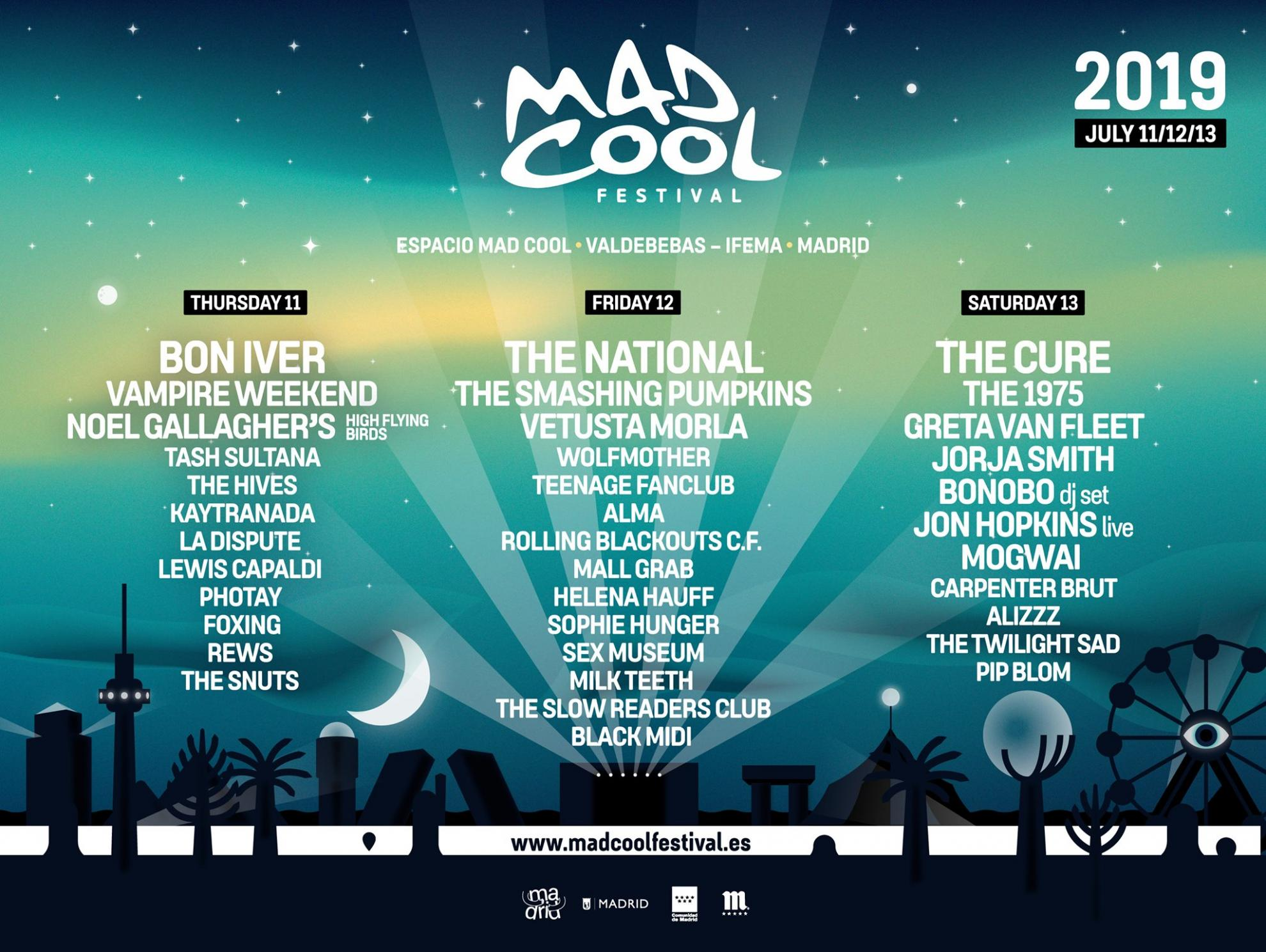 Cartel Mad Cool 2019