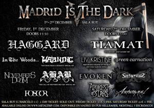 Logo Madrid Is The Dark 2017