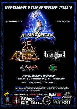 Logo Almazarock 2017