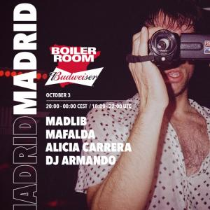 Logo Boiler Room x Budweiser Discover What's Brewing