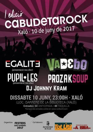 Cartel CabudetaRock 2017