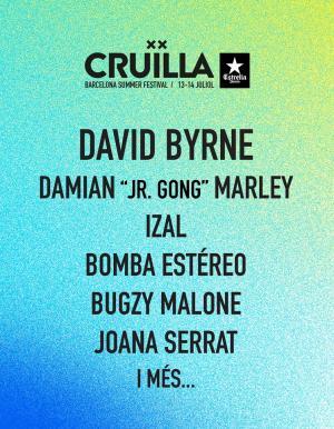 Logo Cruïlla Barcelona 2018