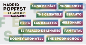 Cartel Madrid Popfest 2017