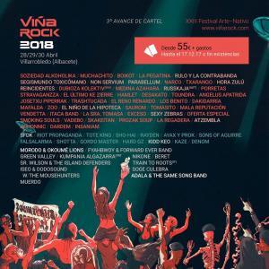 Logo Viña Rock 2018