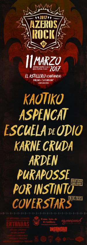 Cartel Azero's Rock Festival 2017