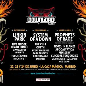 Cartel Download Festival España 2017