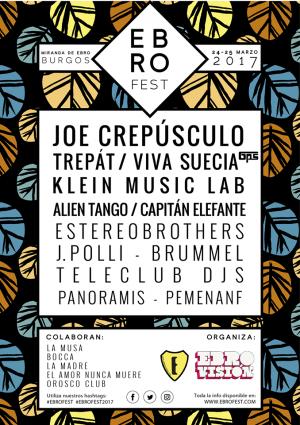 Cartel Ebrofest 2017