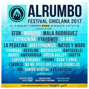 Cartel AlRumbo Festival 2017