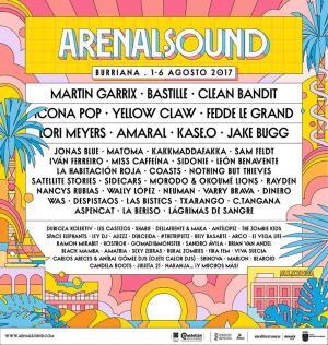 Logo Arenal Sound 2017