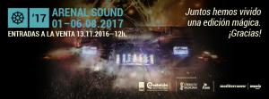 Cartel Arenal Sound 2017