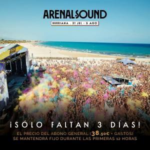 Logo Arenal Sound 2018