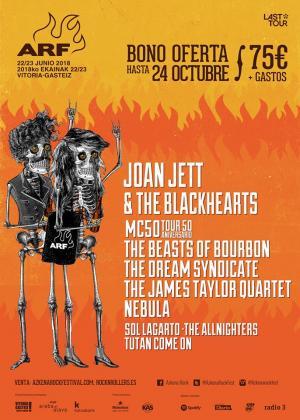 Logo Azkena Rock Festival 2018