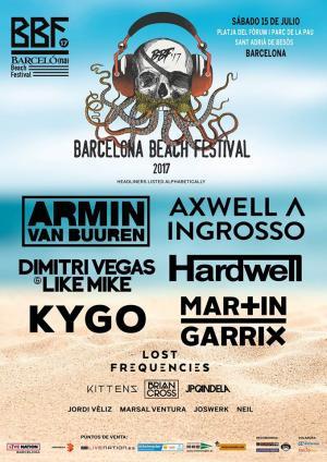 Logo BBF Barcelona Beach Festival 2017