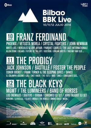 Logo Bilbao BBK Live 2014