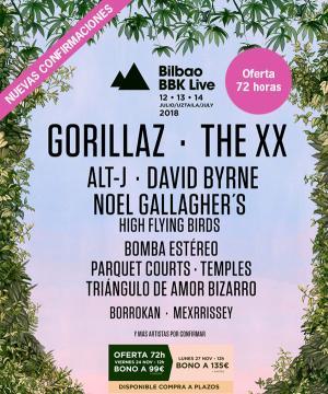 Logo Bilbao BBK Live 2018
