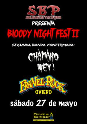 Logo Bloody Night Fest 2017