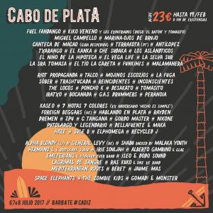 Cartel Cabo de Plata 2017