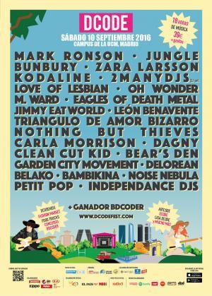 Cartel dCode Festival 2016