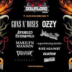 Logo Download Festival Madrid 2018