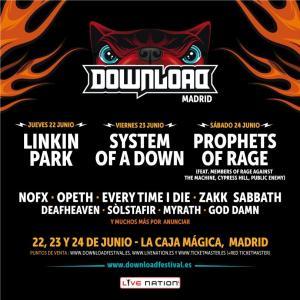 Cartel Download Festival España 2017