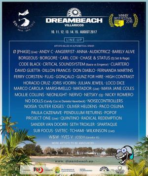 Cartel Dreambeach Villaricos 2017