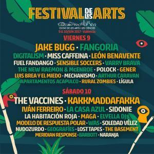 Logo Festival de Les Arts 2017