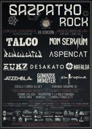 Cartel Gazpatxo Rock 2017