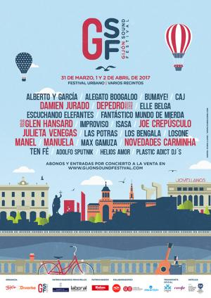Logo Gijón Sound Festival 2017