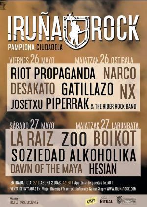 Logo Iruña Rock 2017