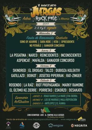 Logo The Juergas Rock Festival 2017