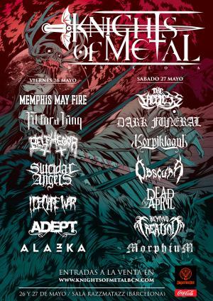 Logo Knights Of Metal 2017
