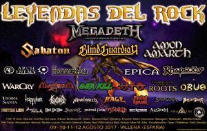 Logo Leyendas del Rock 2017