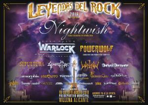 Logo Leyendas del Rock 2018