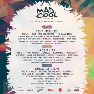 Logo Mad Cool Festival 2017