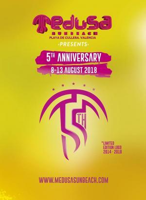Logo Medusa Sun Beach festival 2018