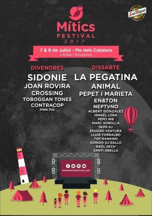Logo Mítics Festival 2017