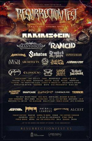 Cartel Resurrection Fest 2017