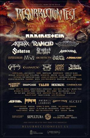 Logo Resurrection Fest 2017