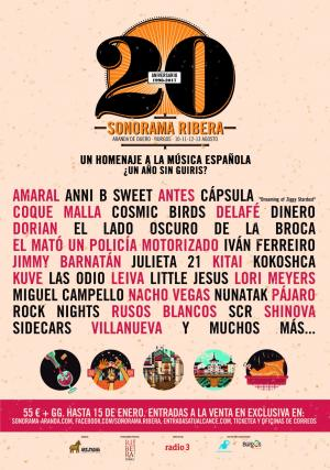 Cartel Sonorama 2017