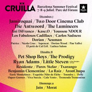 Logo Cruïlla Barcelona 2017