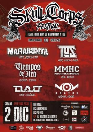 Logo Skull Corps Festival 2017