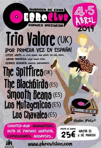 Cartel Festival Ebroclub 2014
