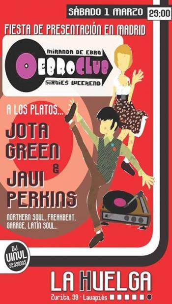 Fiesta de presentación Ebroclub 2014 (Madrid)