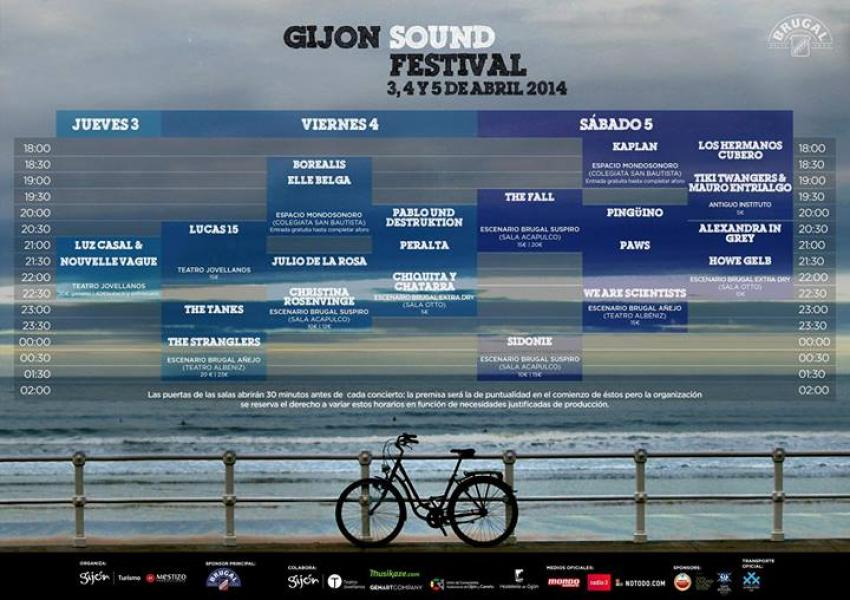 Gijon Sound Festival 2014