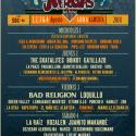 Cartel The Juergas Rock Festival 2018