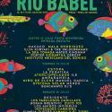 Cartel Festival Río Babel 2017