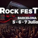 Logo Rock Fest BCN 2018
